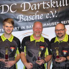 Luca Bolluck ist Vereinsmeister der Dartskulls