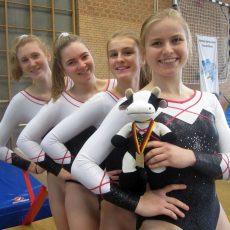 Kirchdorfer Turnerinnen siegen beim Rundenwettkampf