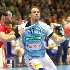 Handball-Recken feiern eine rauschende Europaparty