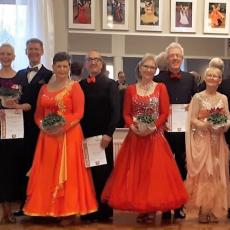 Tanzpaar Sabine und Reinhard Brandes feiert einen beachtlichen Erfolg im Norden