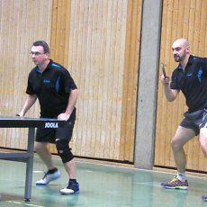 1. Tischtennis-Herren des TSV Langreder mischt ganz oben mit