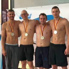 Barsinghäuser Lagenstaffel gewinnt bei den Deutschen Kurzbahnmeisterschaften Silber