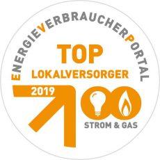 """Stadtwerke Barsinghausen erhalten die Auszeichnung """"TOP-Lokalversorger 2019 Strom & Gas"""""""