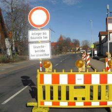 Sanierung der Golterner Hauptstraße bringt Einschränkungen und Diskussionen mit sich