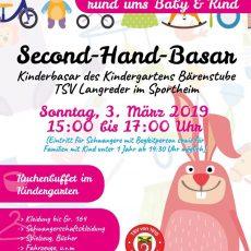 """Kindergarten """"Bärenstube"""" veranstaltet Second-Hand-Basar rund ums Baby & Kind"""