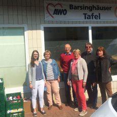 SPD würdigt das ehrenamtliche Engagement der Tafel-Mitarbeiter