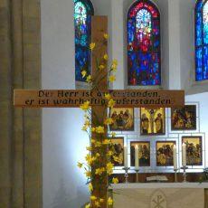 Besondere Gottesdienste in der Karwoche und zu Ostern in der Klosterkirche