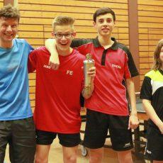 Tischtennis-Vereinsmeisterschaft beim TSV B: War das schon die Wachablösung?