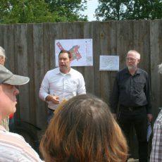 Anlieger fürchten Beeinträchtigungen durch eine zusätzliche Wohnbebauung im Rottkampweg