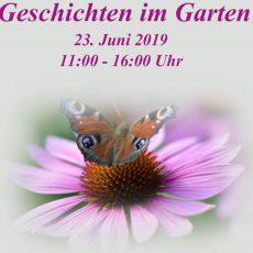 Im Garten der Familie Pristin treffen Kunst, Literatur und Natur zusammen