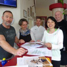 Im Kampfkunst-Center-Goltern wird nach dem Urlaub wieder kräftig trainiert