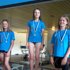 Barsinghausens Schwimmer feiern einen überaus erfolgreichen Saisonabschluss