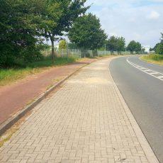 Schildbürgerstreich in der Röntgenstraße ist beendet