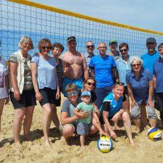 Volleyballer vom TSV Barsinghausen genießen ein sportliches Wochenende an der Küste