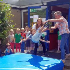 Rauswurf: Kita Barsinghausen verabschiedet 50 Schulanfänger