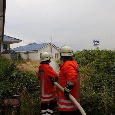 Feuerwehren retten Personen aus brennendem Hotel