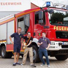 Ortsfeuerwehr Barsinghausen löscht auch beim diesjährigen Stadtfest wieder durstige Kehlen
