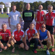 Triathleten vom TSV Barsinghausen demonstrieren in Celle ihre Stärke