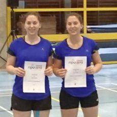 Badminton: Stordel-Zwillinge knapp am Treppchen vorbei