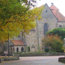 Lehrer feiern Gottesdienst in der Klosterkirche