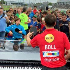 Barsinghäuser Tischtennistalent fordert den großen Timo Boll