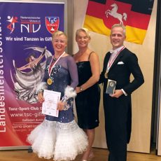 Tanzpaare aus Barsinghausen und Bad Nenndorf feiern auf Landesebene Erfolge