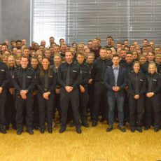 Polizeidirektion Hannover wird mit 233 neuen Mitarbeitern verstärkt
