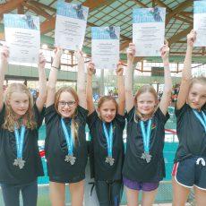 Schwimmen: Die kleinsten SGS-Mädels sind erneut ganz groß
