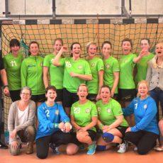 HVB-Damen bleiben dem Tabellenführer nach einem Kantersieg in Nienburg auf den Fersen