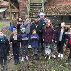Kindergruppe der Ökostation erfährt Interessantes zu der Herkunft der Schokolade