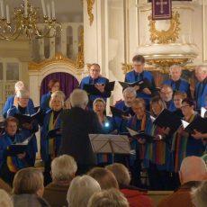 Heimatchor Eckerde singt beim traditionellen Adventskonzert Weihnachtslieder aus aller Welt