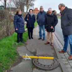 Gehweg-Mängel, ein hohler Baum und Geschwindigkeitsbegrenzung: SPD will sich für Verbesserungen einsetzen