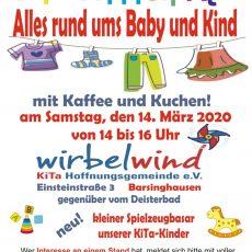 """Rund ums Kind: Kita """"Wirbelwind"""" der Hoffnungsgemeinde lädt zum Flohmarkt ein"""
