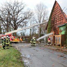 Abgebrannter Teil der Ökostation soll wieder aufgebaut und die Vereinsaktivitäten fortgesetzt werden