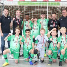 Futsal-Cup in Barsinghausen: Die U 12-Junioren von Hannover 96 triumphieren
