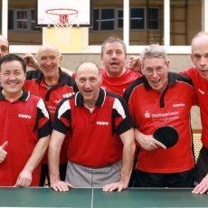 Tischtennis: Die 3. Herren vom TSV Barsinghausen ist aufgestiegen