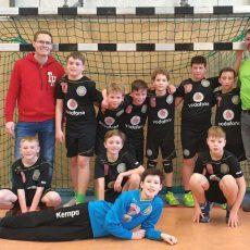 Kleine Handballer absolvieren ein riesiges Programm mit Bravour