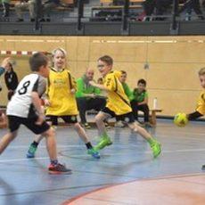 Der Handballnachwuchs zeigt vollen Einsatz
