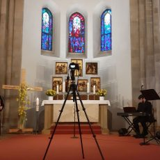 Für stille Gebete öffnet die Klosterkirche am Karfreitag und Ostersonntag kurzzeitig ihre Türen