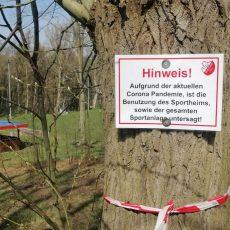 Nutzung des Vereinsgeländes verboten: TSV Bantorf droht wilden Müllentsorgern mit Konsequenzen