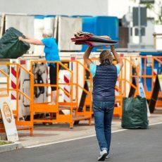 Einige Wertstoffhöfe und 52 Grüngutannahmestellen öffnen nach Ostern wieder