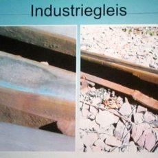 Zuschuss für die Erneuerung des Industriegleises ist gesichert