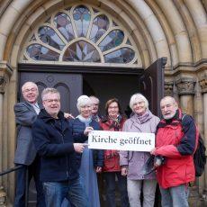 Die Klosterkirche ist wieder verlässlich geöffnet