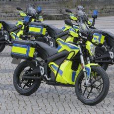 Acht neue E-Motoräder für die Polizeidirektion Hannover