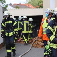 Brand in Kirchdorf: Drei Feuerwehren im Einsatz