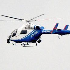 Polizei sucht jetzt per Hubschrauber nach dem vermissten Manuel F.