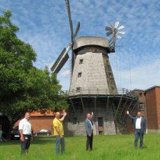 Erneuerung der Windmühlen-Technik wird von der Stadtsparkassenstiftung und der Stadt finanziell gefördert
