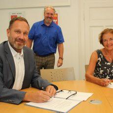 Stadt und CC & Co unterzeichnen neuen Kooperationsvertrag
