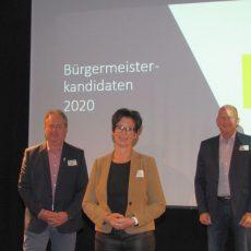 Bürgermeisterkandidaten stehen der FDP und den Bürgern Rede und Antwort