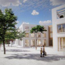 Planungsleistungen für den Neubau der Wilhelm-Stedler-Schule werden ausgelost